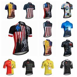 2019 Summer Men's Cycling Jersey Bicycle Short Sleeve T-Shir