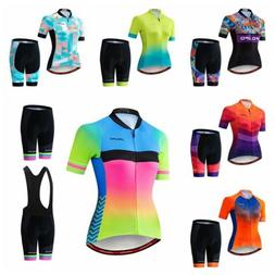 JPOJPO 2019 Women Cycling Jersey Bicycle Wear Clothing Set T