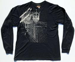 KTM Fence Guard Skull T Shirt Black Mens L Troy Lee Designs