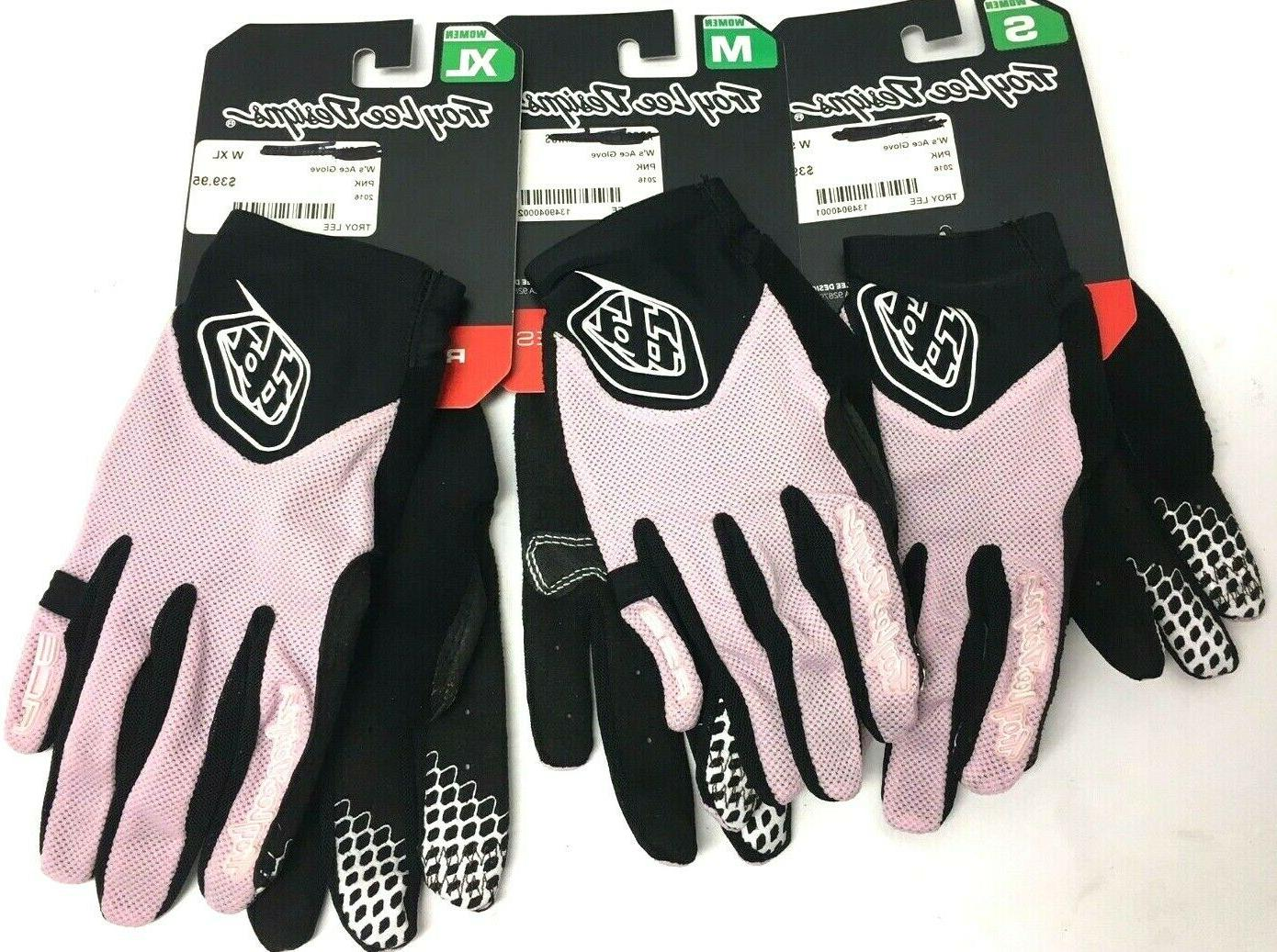 $40 Troy Ace Gloves Women Cycling NWT TouchScreen Mesh