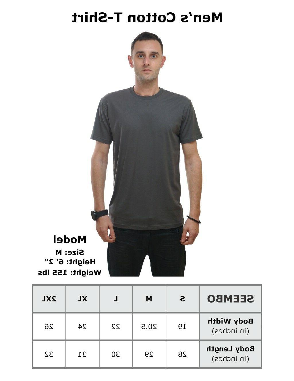 Giraffe Tee Cyclist Men's Cotton SP SEEMBO