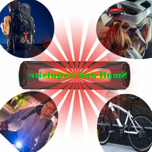 LED Bicycle Cycling Light Rear Warning Light 6 Modes
