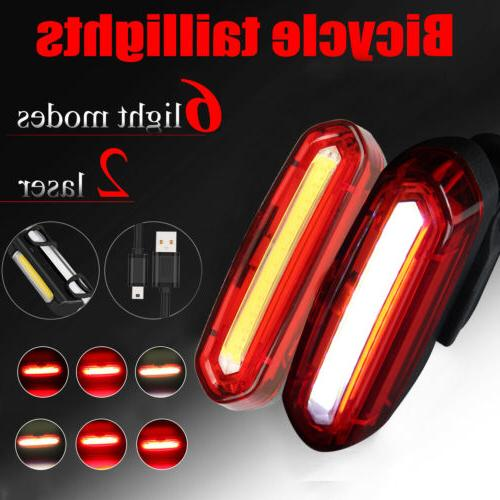 led bicycle cycling tail light usb rechargeable