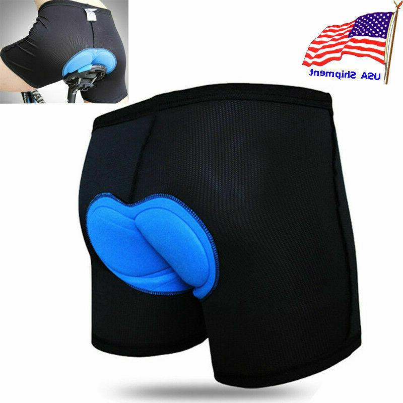 Men Women Cycling Shorts Bicycle Underwear Pants With Padded