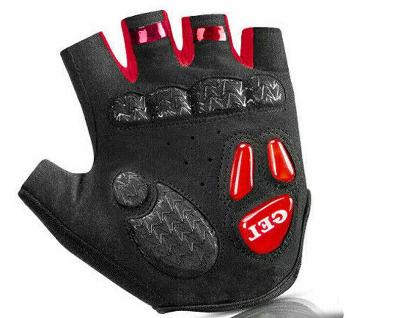 Sports Cycling Gloves Bicycle Gel Pad Half Finger Gloves Women