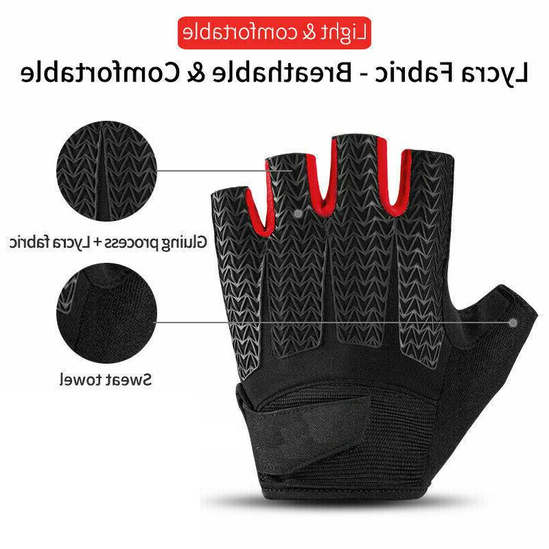 Sports Cycling Gloves Bicycle Finger Gloves Women Men