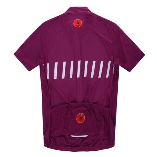 WEIMOSTAR Summer Cycling Jersey Full Zip Bicycle
