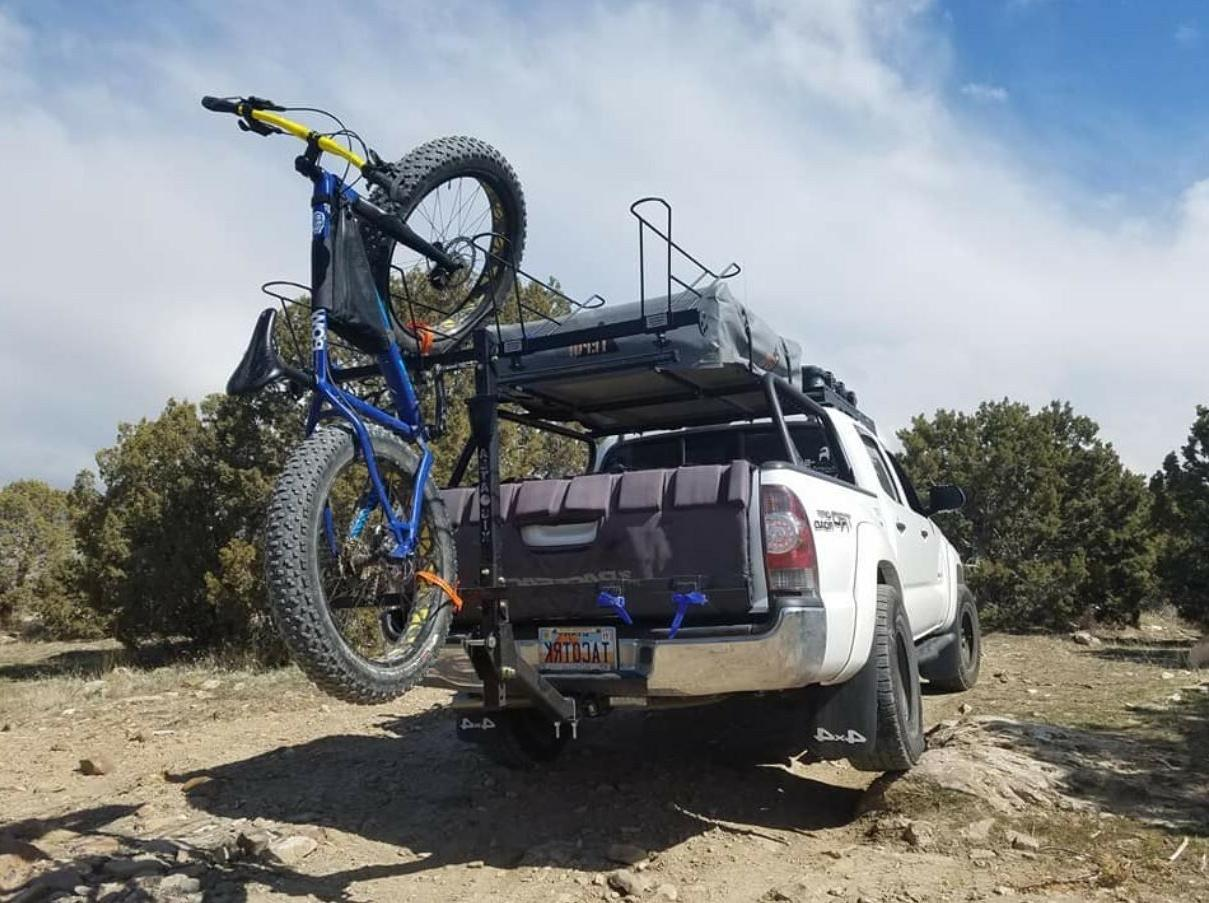 vertical rack, bicycle, mountain