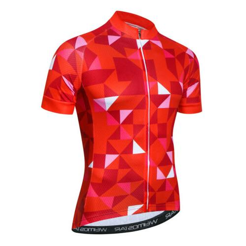 weimostar cycling clothing team bike triangle jersey