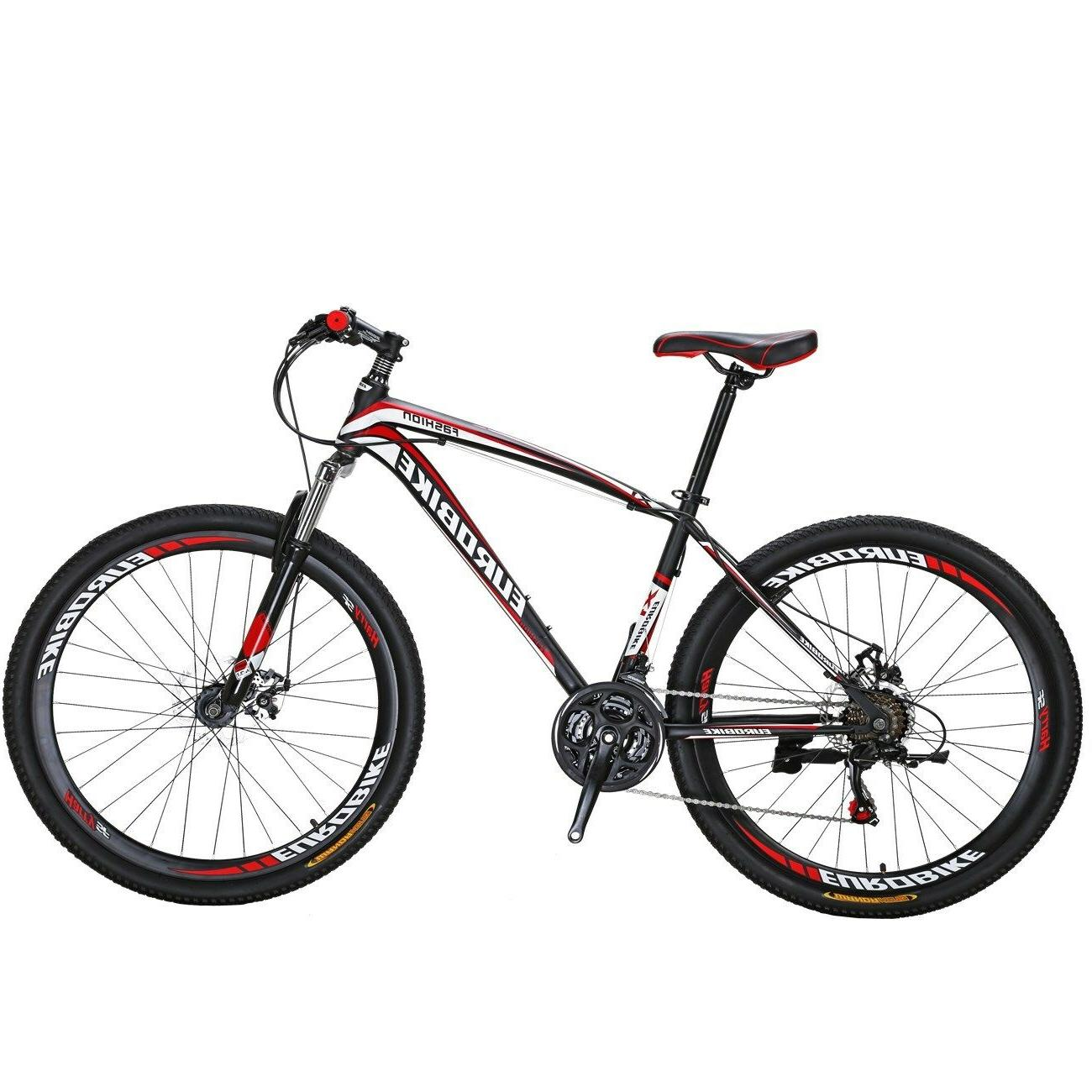 X1 Bike 27.5 inches Wheels Speed Bicycle MTB Front Mens