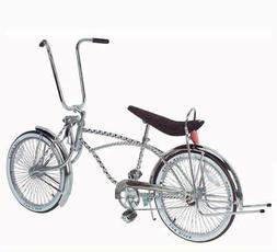 """New 20"""" Lowrider Bike Twisted Frame with 72 spokes Bent Fork"""
