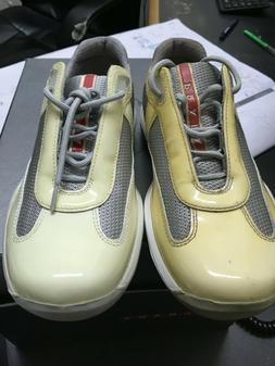 New Womens Size 36 PRADA SPORT AMERICAS CUP NEVADA BIKE SHOE