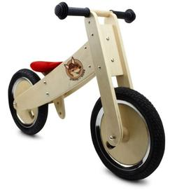 Wooden Balance Bicycle Bike Small Kids Child Toddler Toy Rec